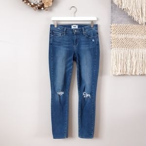Paige | Destructed Verdugo Ankle Skinny Jeans